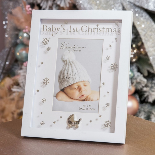 fotolijst baby's 1st Christmas
