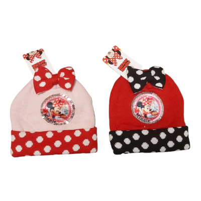 Minnie Mouse muts rood of roze