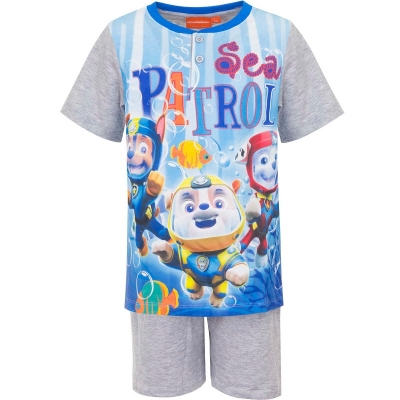 Paw Patrol shortama grijs Sea 122