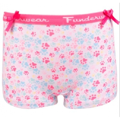 Fun2Wear meisjes boxershortje rainbow cat foot