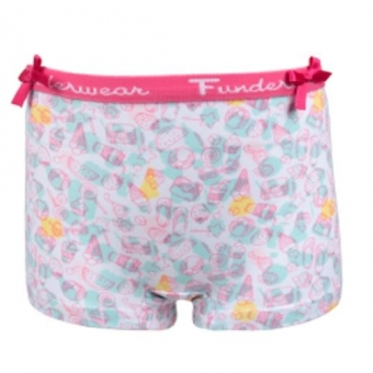 Fun2Wear meisjes boxershortje small things mint