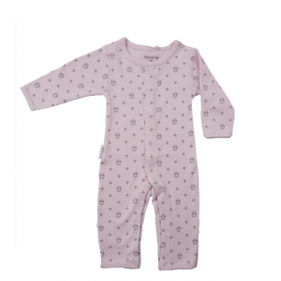 Frogs and Dogs roze boxpakje / onesie